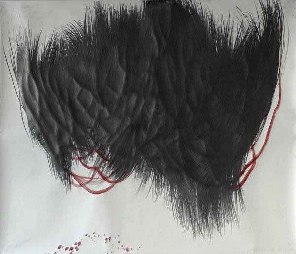 2012-Farbe-Graphit-auf-Papier-90x110cm